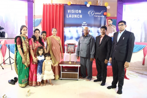 A grand vision launching event successfully done on 17 September 2017 3