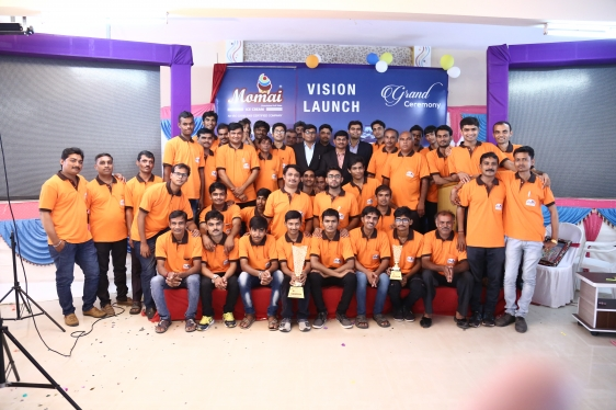 A grand vision launching event successfully done on 17 September 2017 6